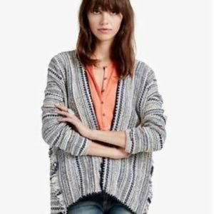 Lucky Brand Multicolored Boho Cardigan Size Small